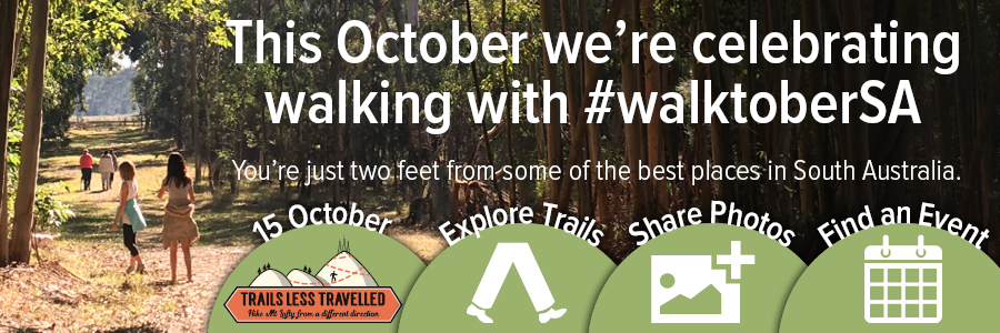 Throughout October we're celebrating walking with #WalktoberSA