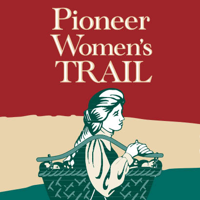 Pioneer Womens Trail logo square