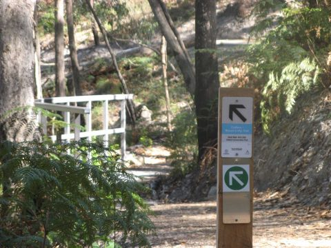 New walking link trail constructed for Crafers to Mt Lofty trail, bg