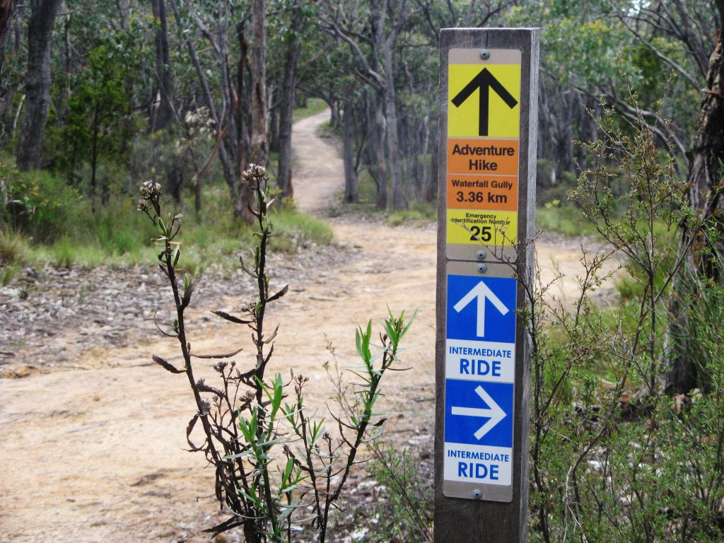 Adventure Trail from Waterfall Gully to Mt Lofty Summit