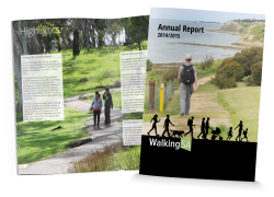 Walking SA 2014-15 Annual Report