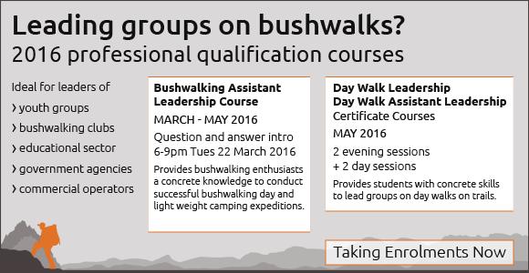 Bushwalking Assistant Leadership Course Taking Enrolments - 580px x 350px