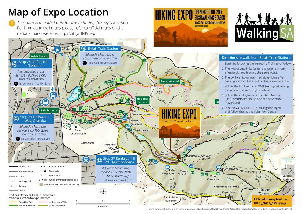 Location Map, Hiking Expo, April 23, 2017, v2017-03-17