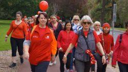 Heart Foundations Heart Week Celebration Walk