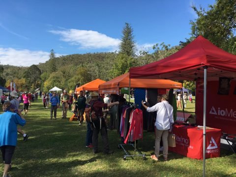 What an event! Hiking Expo 23 April 2017 at Belair National Park