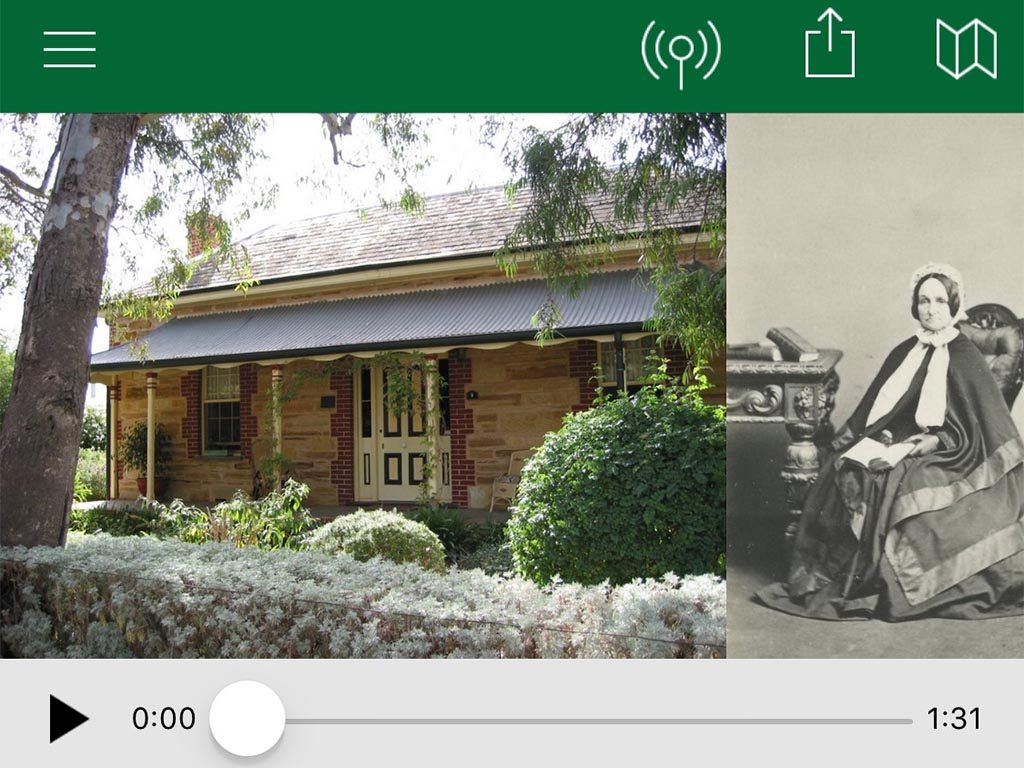 Willunga Walks mobile app