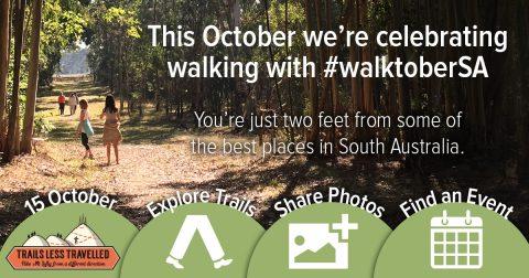 This October we're celebrating walking with #walktoberSA.