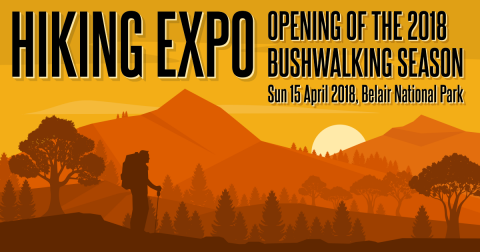 Hiking Expo, Opening of the Bushwalking Season, 15 April 2018