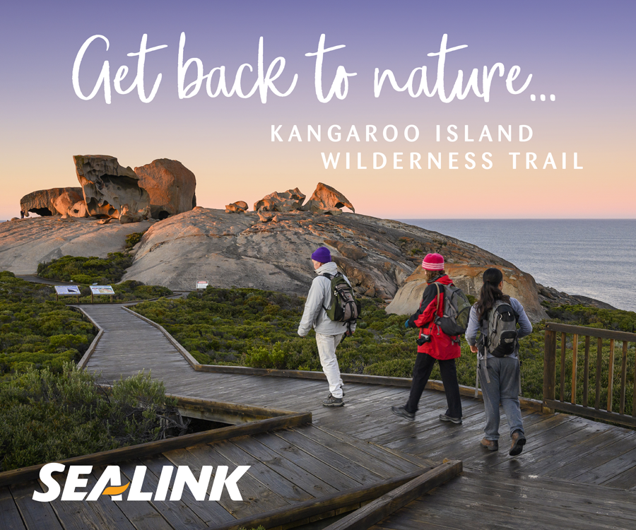 Get back to nature... on the Kangaroo Island Wilderness Trail with Sealink