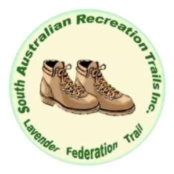 South Australian Recreation Trails (SARTI, Lavender Federation Trail) logo