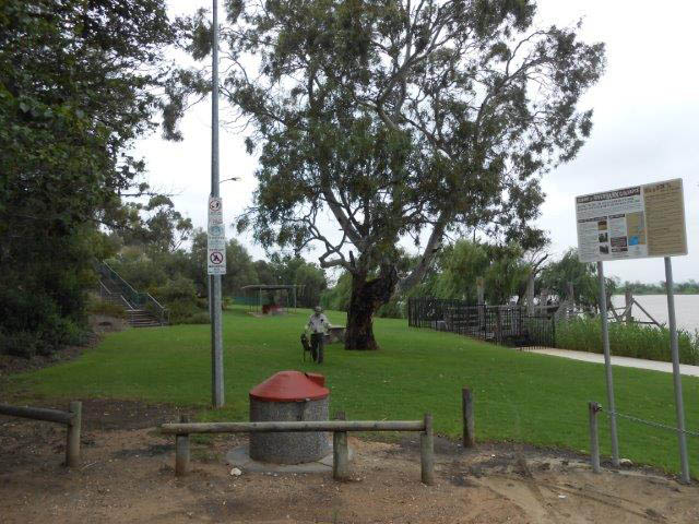 Picnic park adjacent Wellington Ferry and Old Courthouse