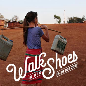 Walk In Her Shoes Challenge