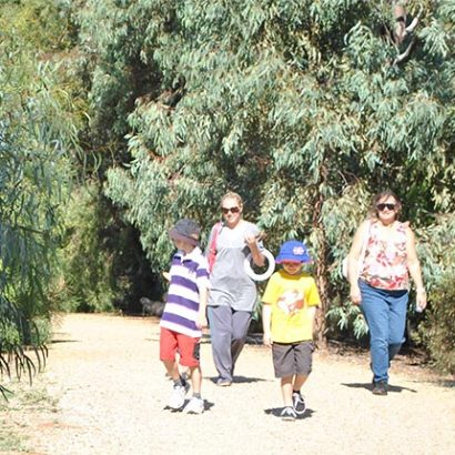 Family Friendly Trails, Jo Gapper Activity Park