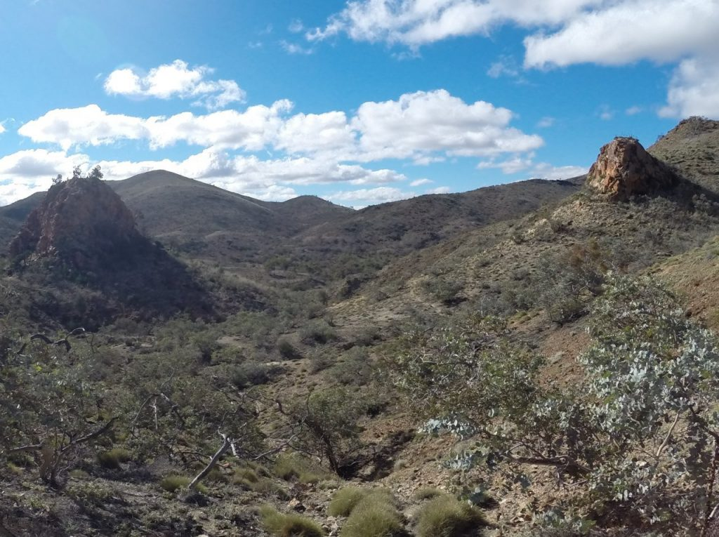 Sitting Bull and Pinnacles - Steve Hudson