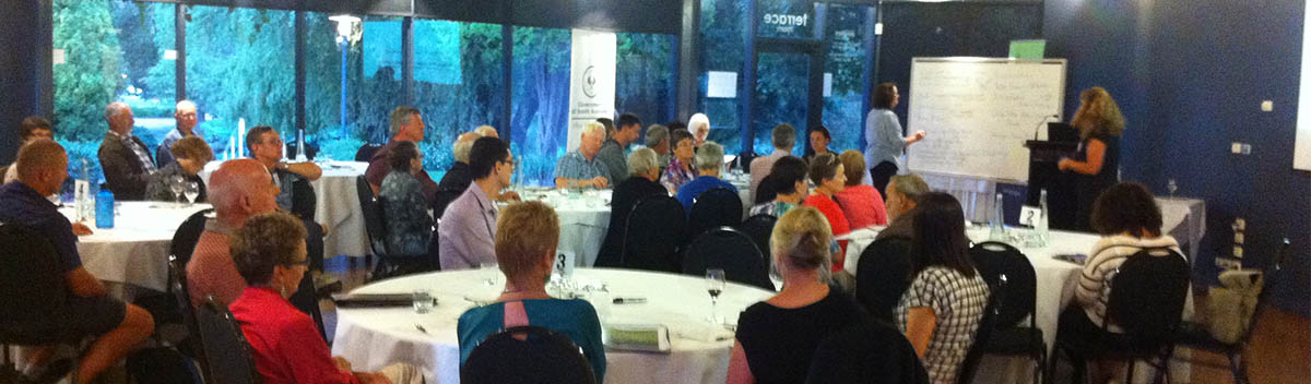 The Walking SA Presidents Forum was held at the Adelaide Pavilion on 19 March 2015