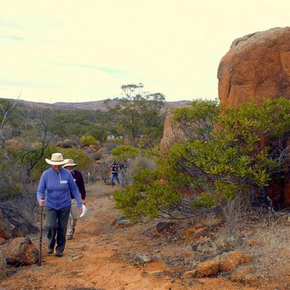 Hiltaba Walking Trails x 4, Gawler Ranges
