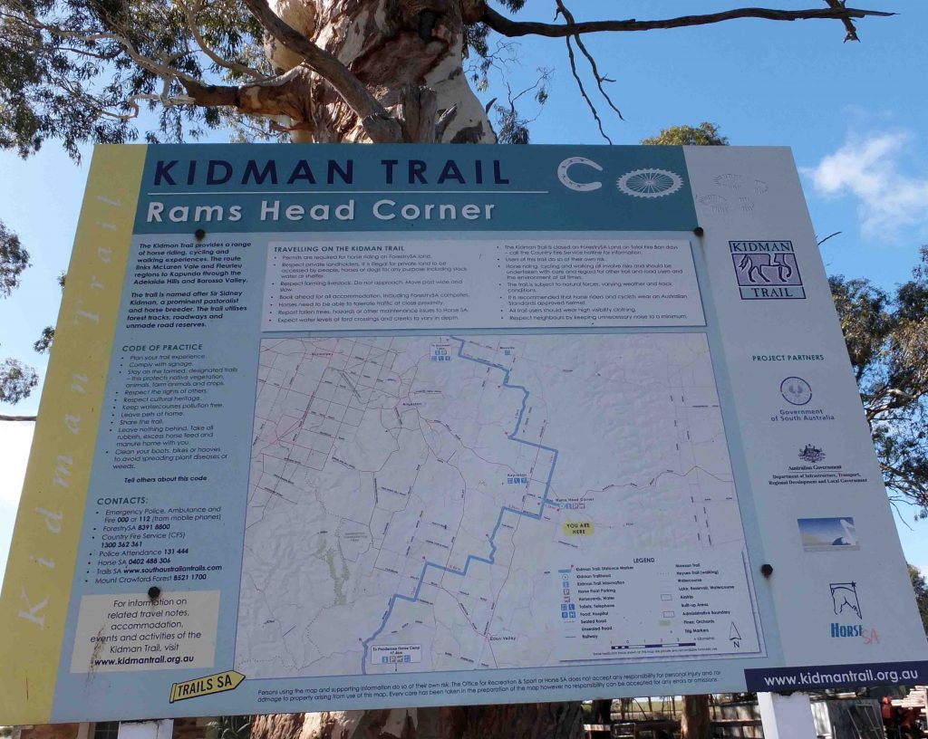 Site 4 : Trail Head sign