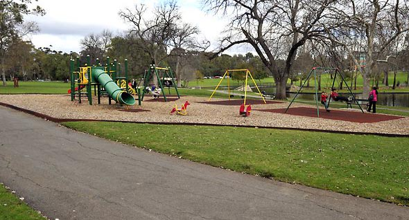 Playground in Rymill Park