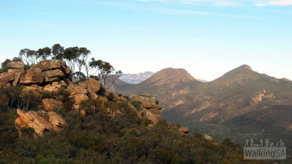 View inside Wilpena Pound