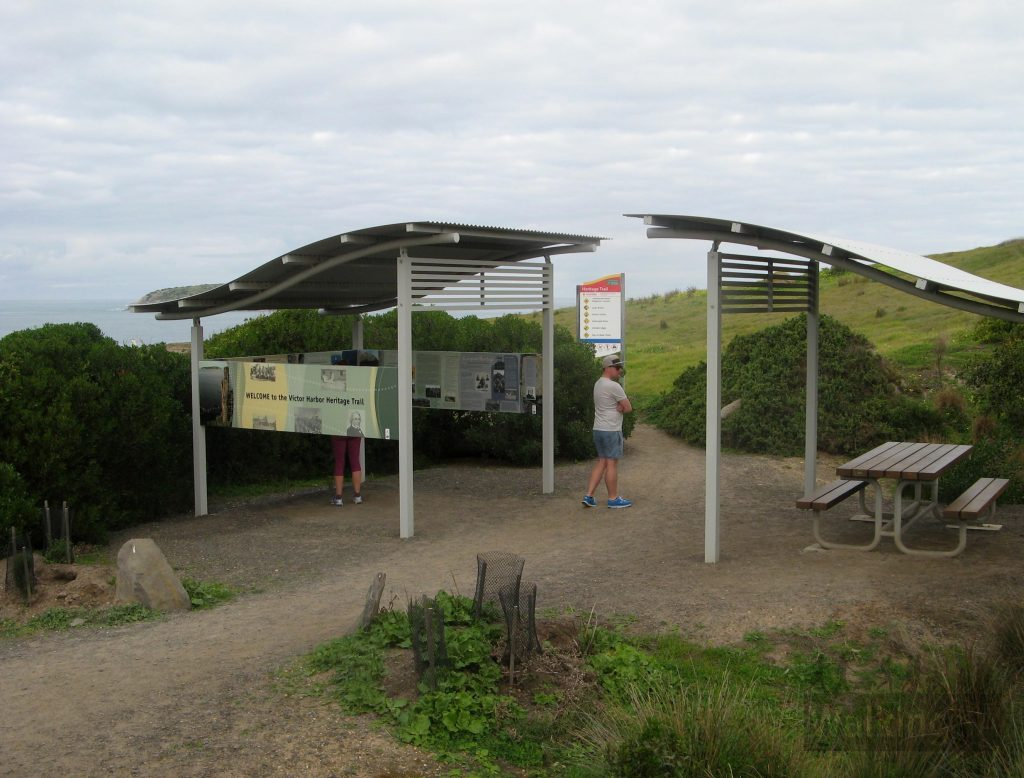 Trailhead at Petrel Cove carpark