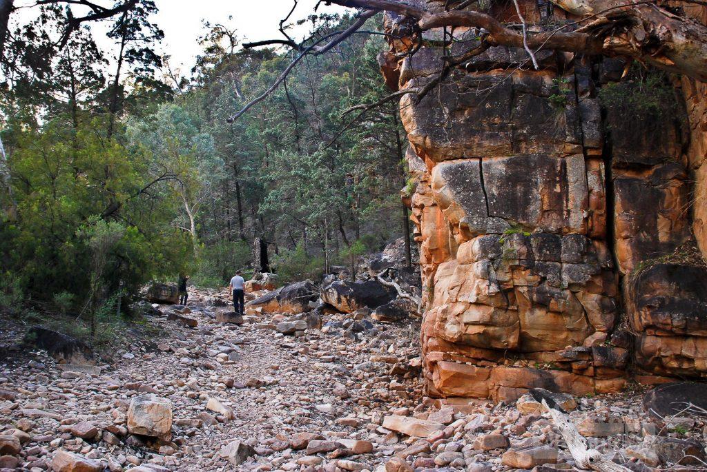 Walking into Hidden Gorge