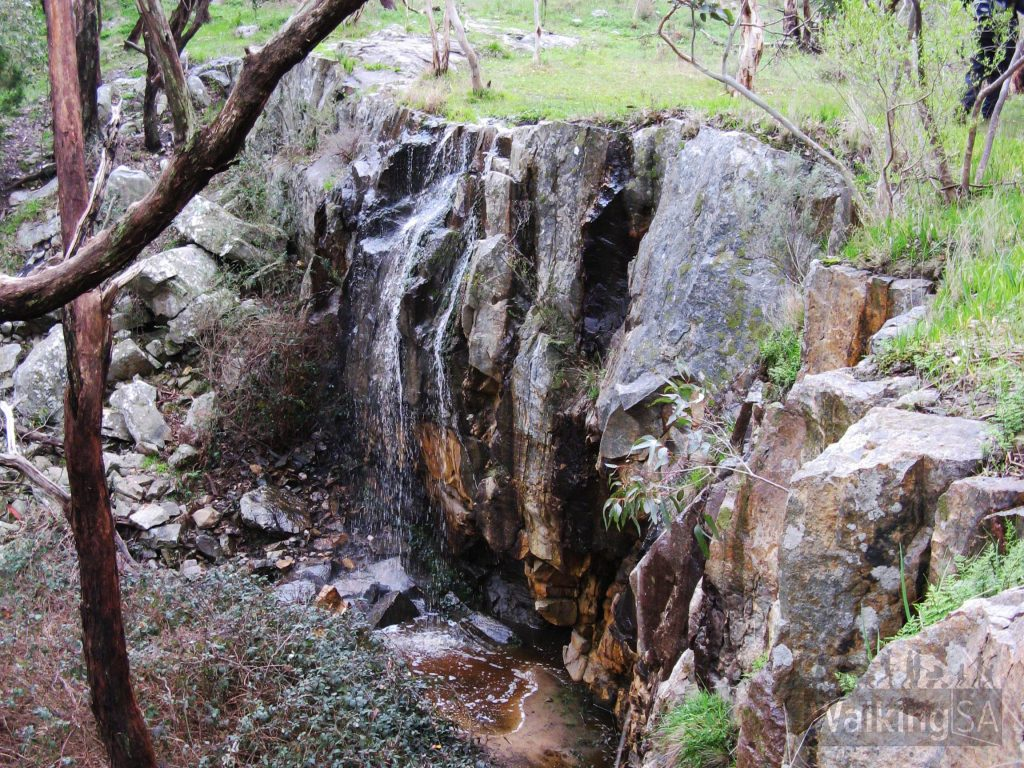Waterfall Hike, Belair National Park