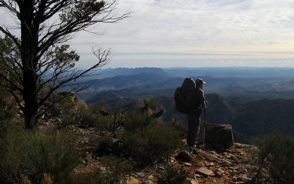St Mary Peak Hike, Wilpena Pound