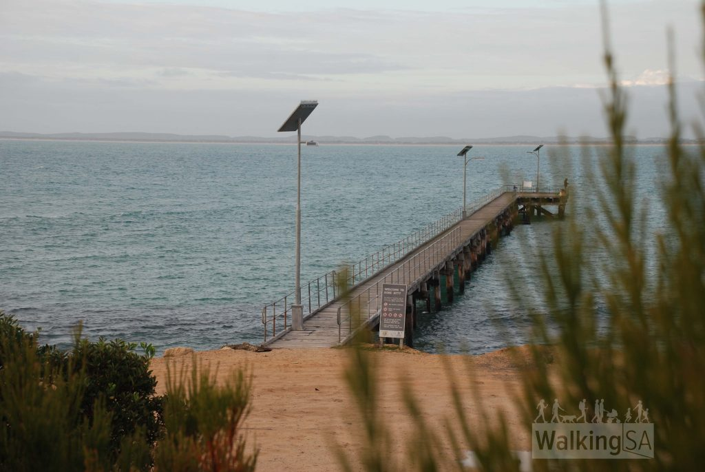 Robe jetty, on the walking trail