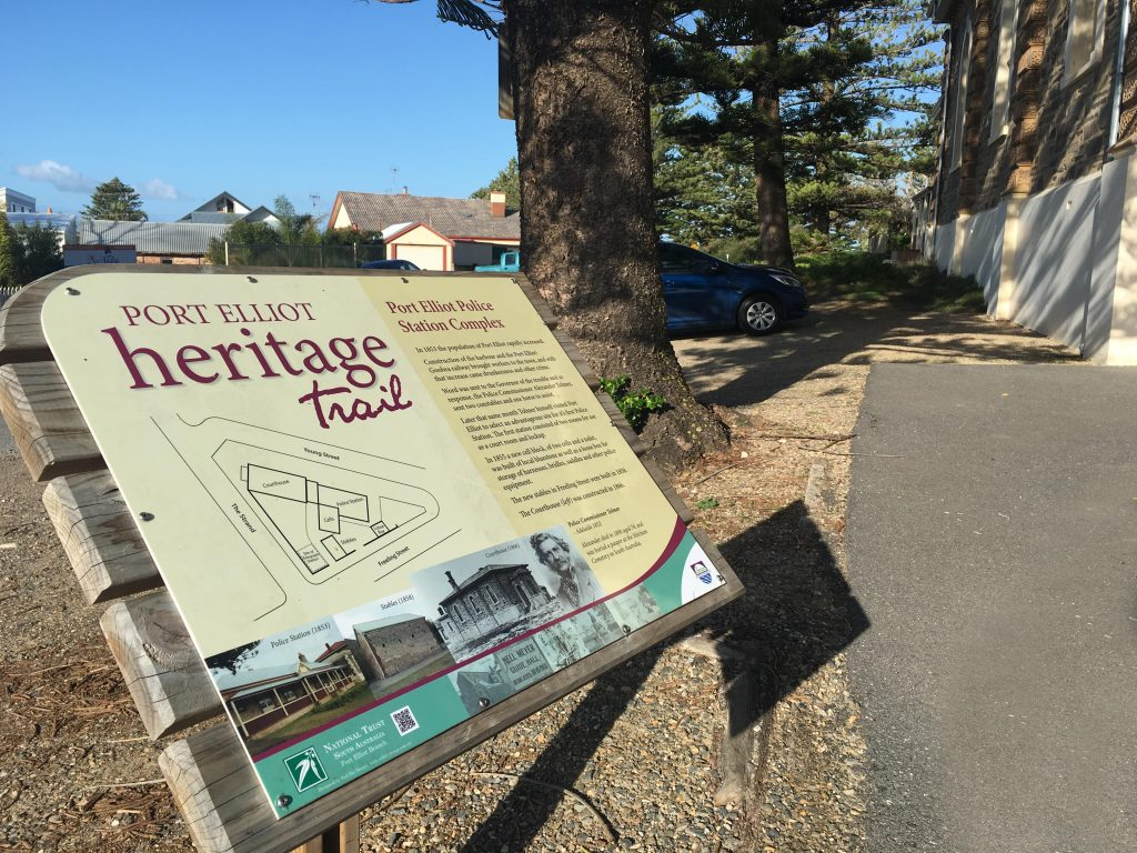 Walk Into History at Port Elliot