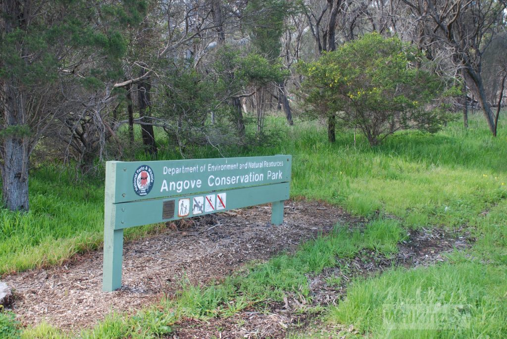 Entrance to Angove Conservation Park