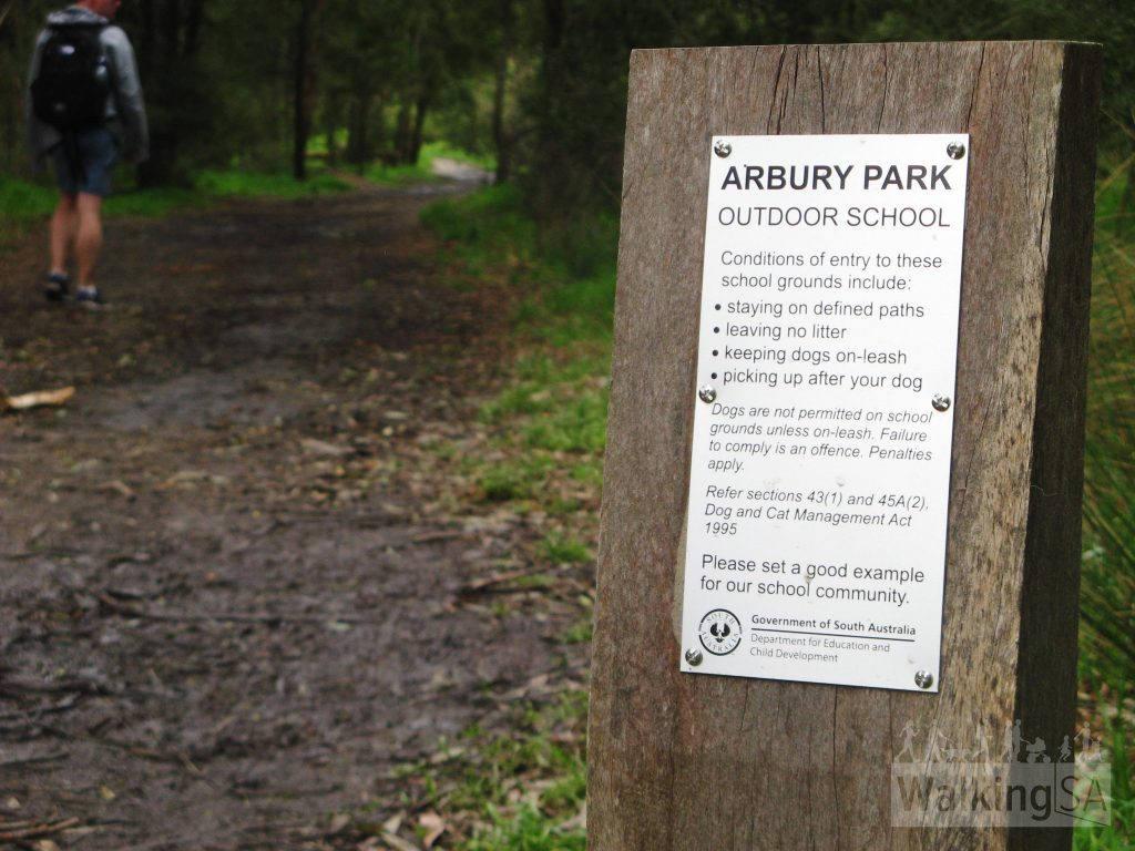 About the reserve through Arbury Park Outdoor School