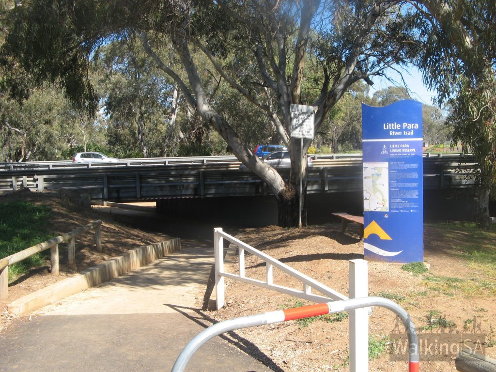 Bridge under Port Wakefield Road