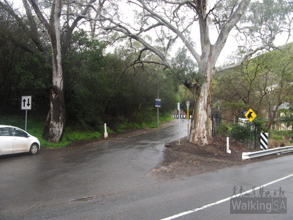 Chambers Hike (Chambers Gully) begins opposite 67 Waterfall Gully Road, Waterfall Gully