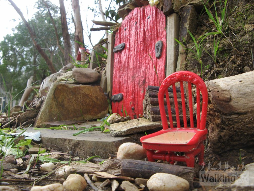 Heysen Trail Walk with Kids to the Fairy Garden, Bridgewater