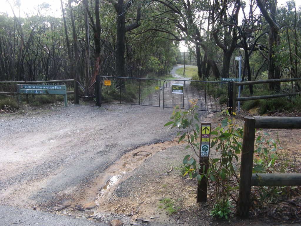 Gate 31, near Cleland Wildlife Park