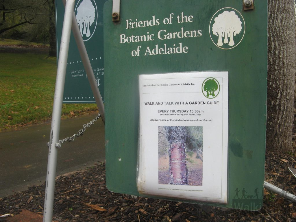 Guided walks in the Mt Lofty Botanical Gardens