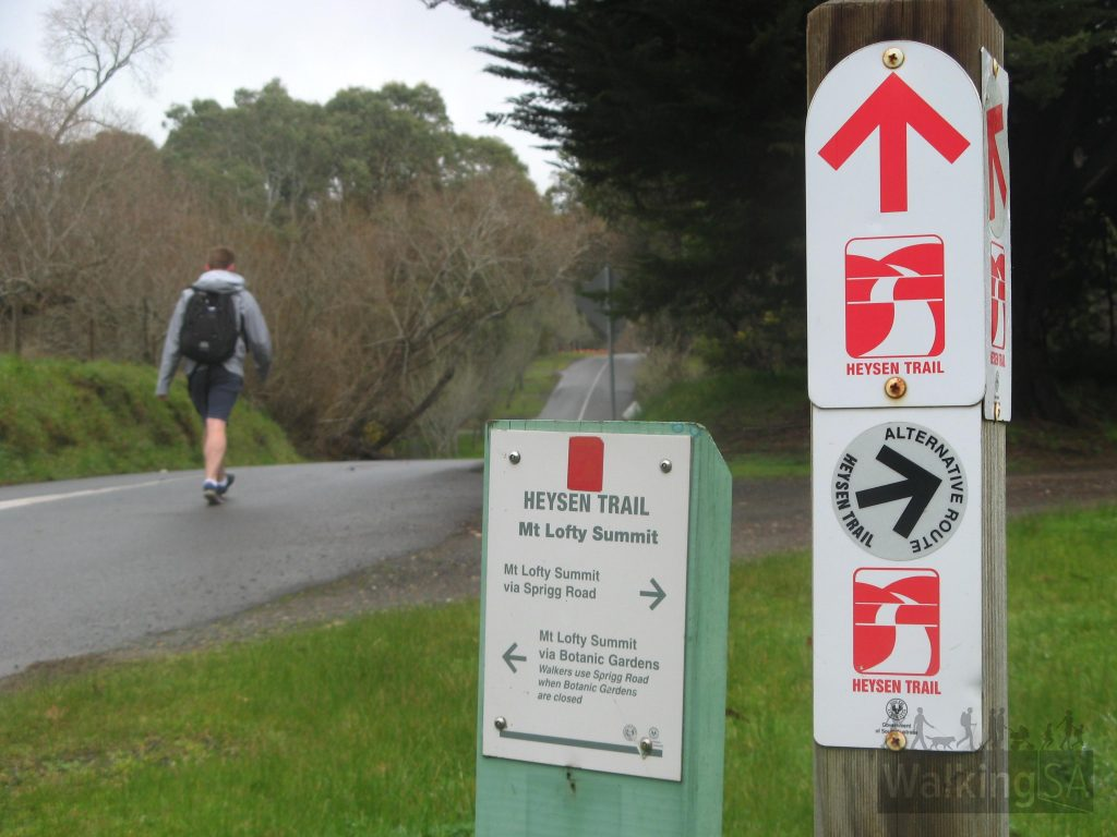 Heysen Trail spur, via Lambert Road