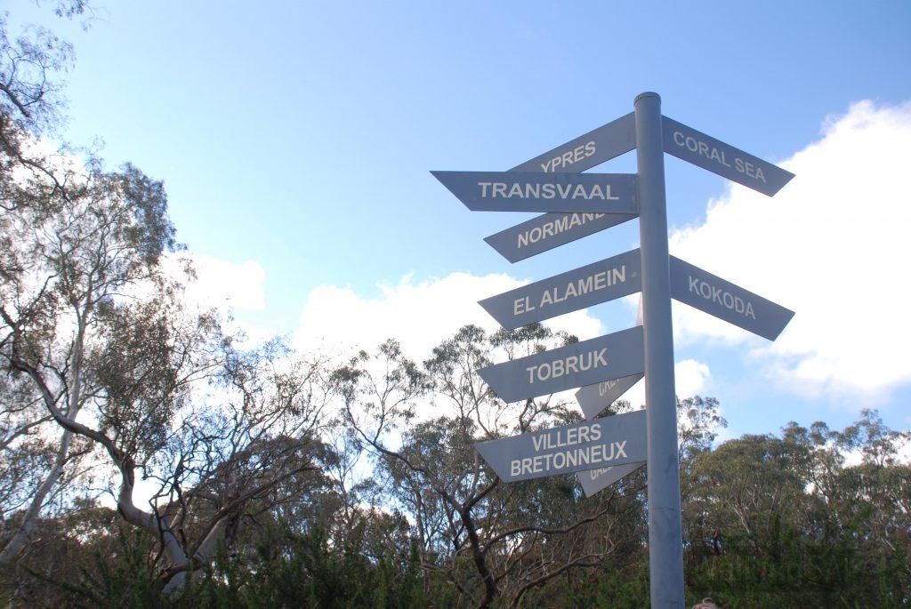 Marker signpost