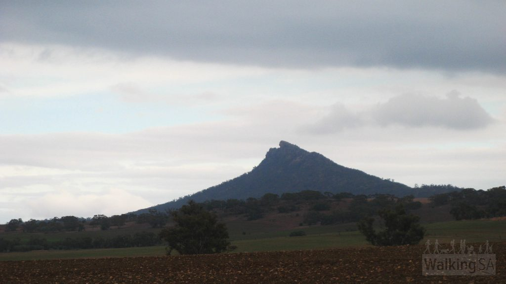 The Devil's Peak mountain as seen from Quorn