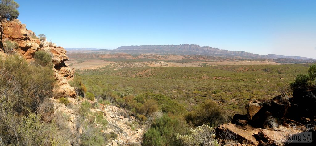 Rawnsley Bluff Hike and Wilpena Pound Lookout