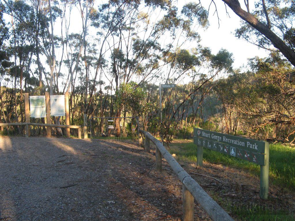 Start hike from Gate 12, Broadmeadow Drive