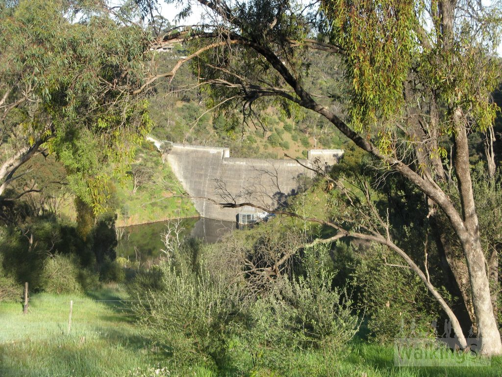Sturt River flood mitigation dam