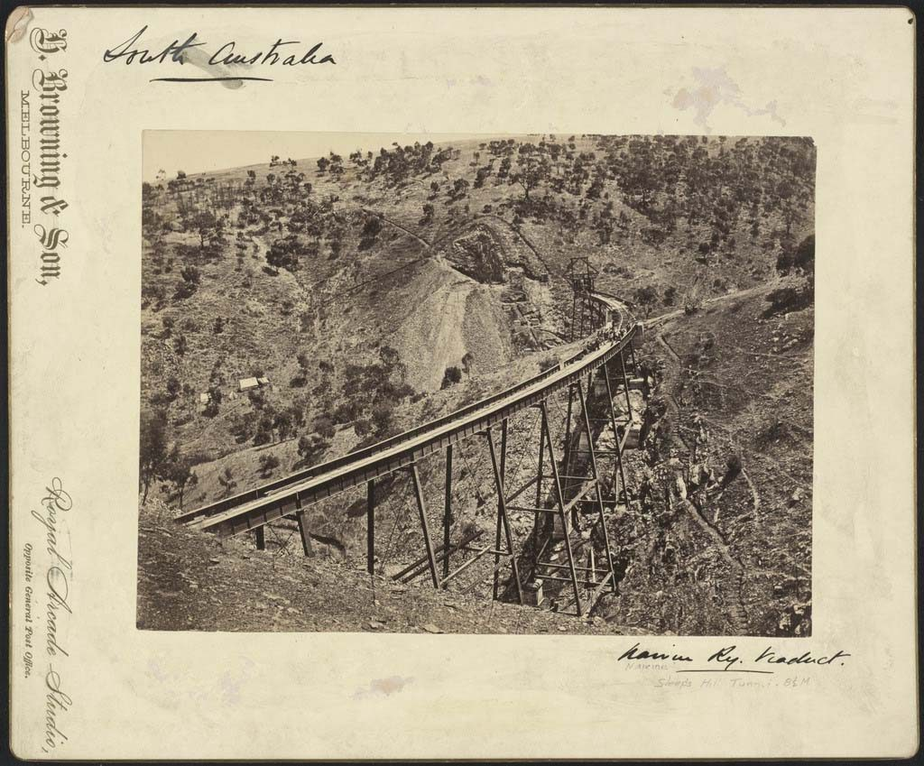 Sleeps Hill Viaduct, 1883