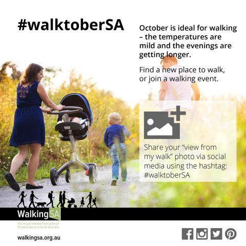 October 2015 is #walktoberSA