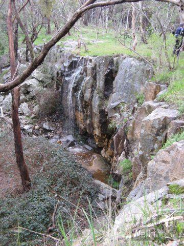Waterfall in Belair National Park