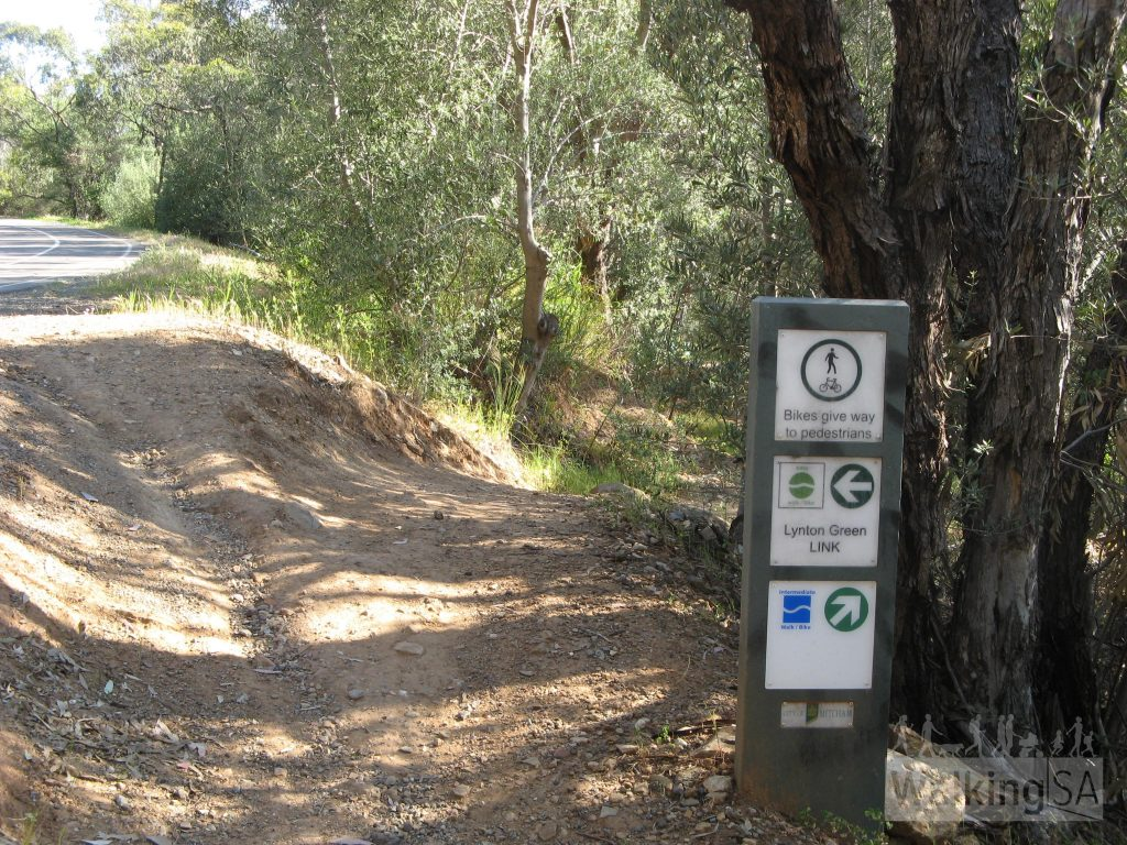 Lynton Green Link walking trail