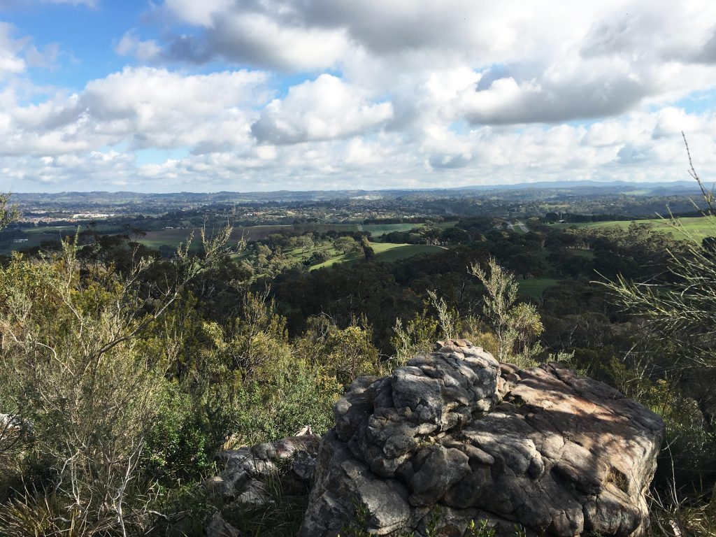 Views from the Scenic Bushwalk around the summit of Mt Barker