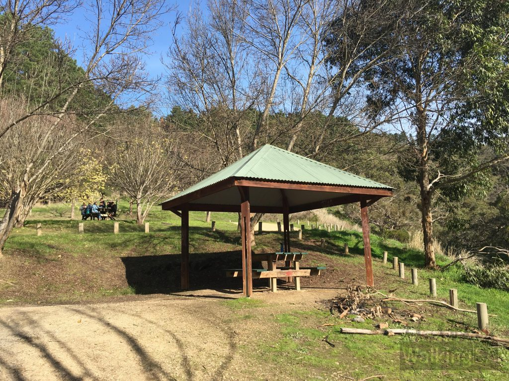 Picnic area at Ingala Falls