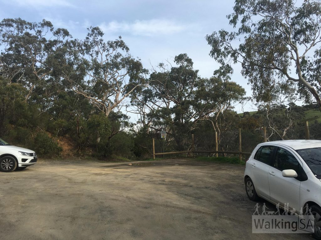 Upper Carpark at Hindmarsh Falls