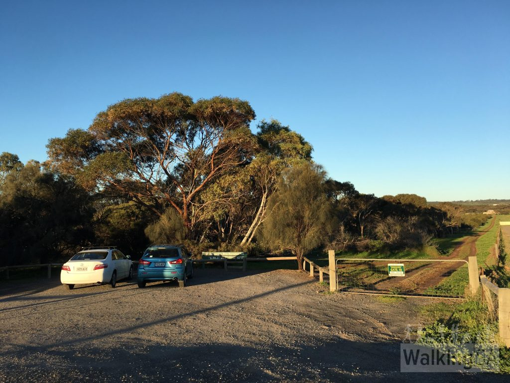 Carpark and entrance at Gate 10, opposite 69 Commercial Road, Port Noarlunga South